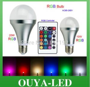 LED RGB E27 20W