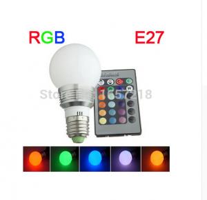 LED RGB E27 9W 220V